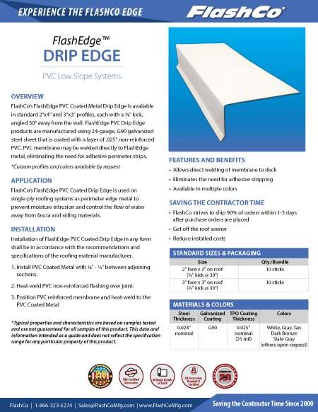 Drip Edge PVC