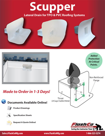 Scupper Product Flyer