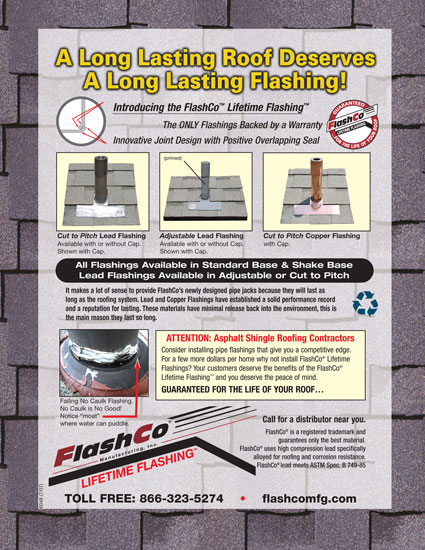 Long Lasting Roof Flyer